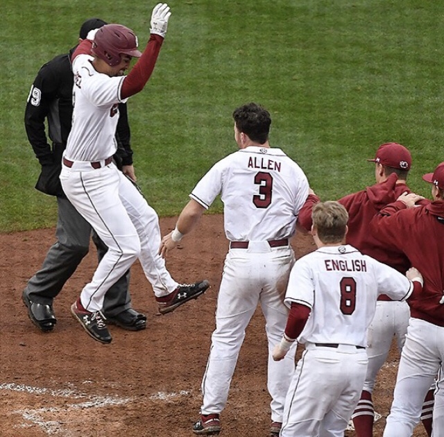 Jacob Olson Launches Walk Off Home Run To Beat North Carolina State 10-8